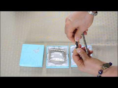 Quantum Bracelet   80 Germanium Balls, Titanium Silver with Gold edge SKU 1347