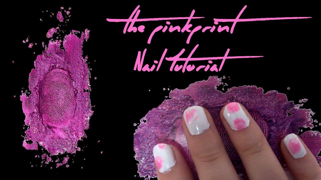 Nicki Minaj PinkPrint Nail Tutorial   Beauty Jamm - YouTube