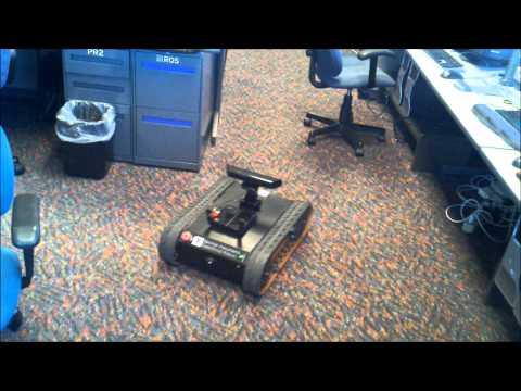 Rugged Autonomous Robot Running LabVIEW Robotics