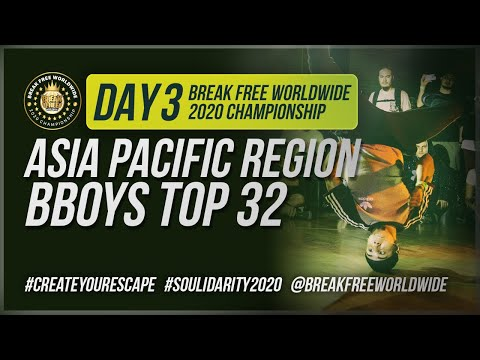 SOULidarity 2020 Championship DAY 3 - Asia Pacific Bboy & Girl Region