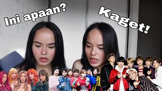 NON KPOP REACT TO KPOP PART 4