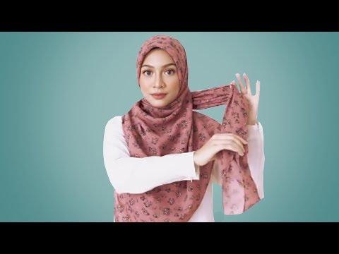 TUTORIAL HIJAB PESTA SIMPLE HIJAB ORGANZA Bahan yang digunakan 1. Iner Pesta 2. Hijab Organza 3. Peniti 4..