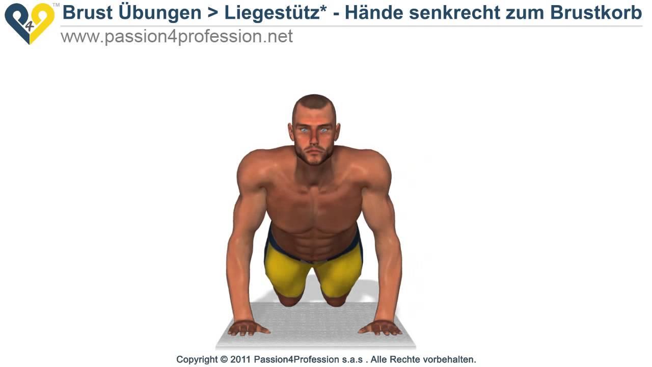 gut Innere brustmuskel trainieren - Liegestütz 2014 - YouTube
