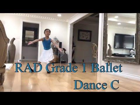 RAD Grade 1 Ballet Dance C - Practice For Exam