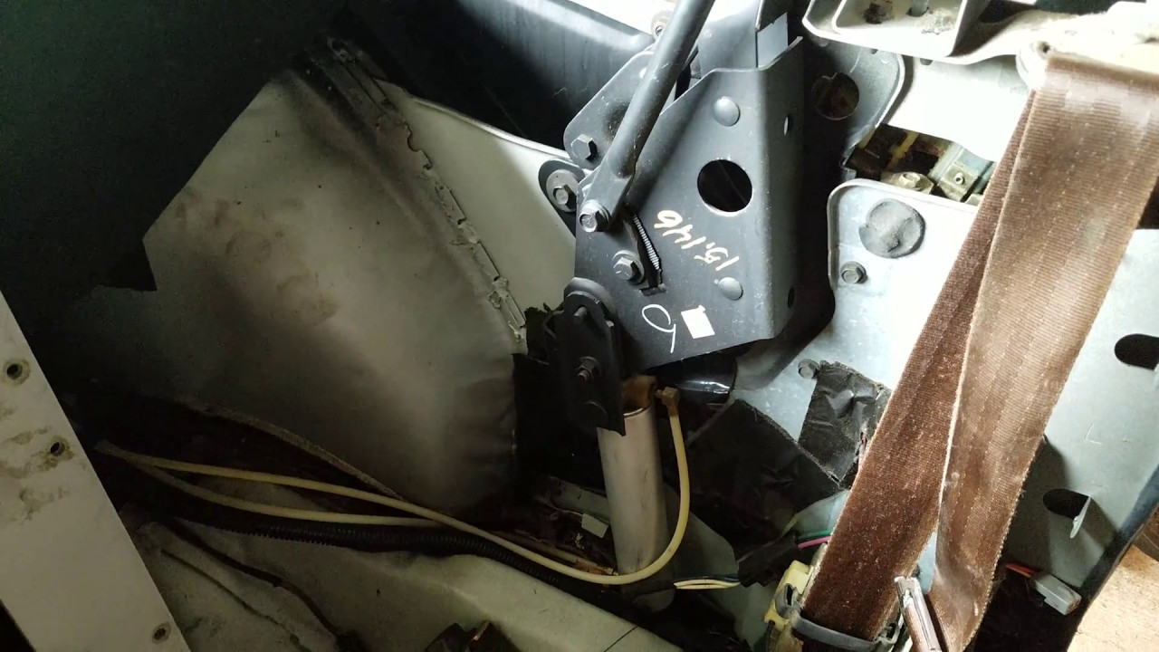 K Body Lebaron Convertible Rear Seat And Side Panel Removal Youtube