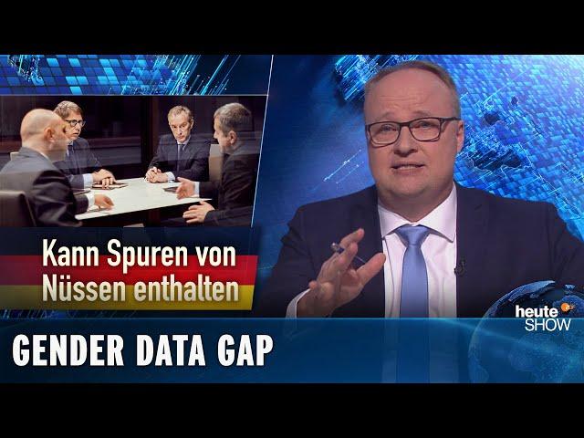 Weltfrauentag: Der Mann bleibt das Maß aller Dinge | heute-show vom 06.03.2020