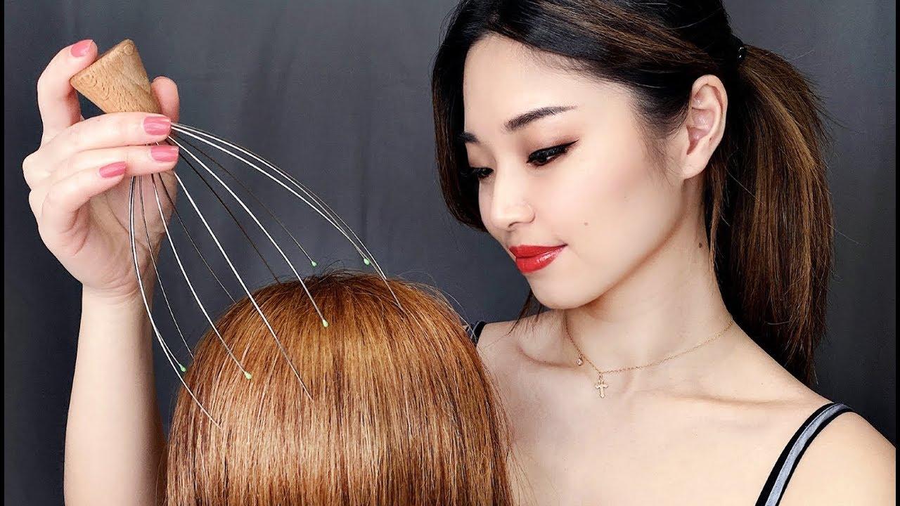 Asmr Head Massage