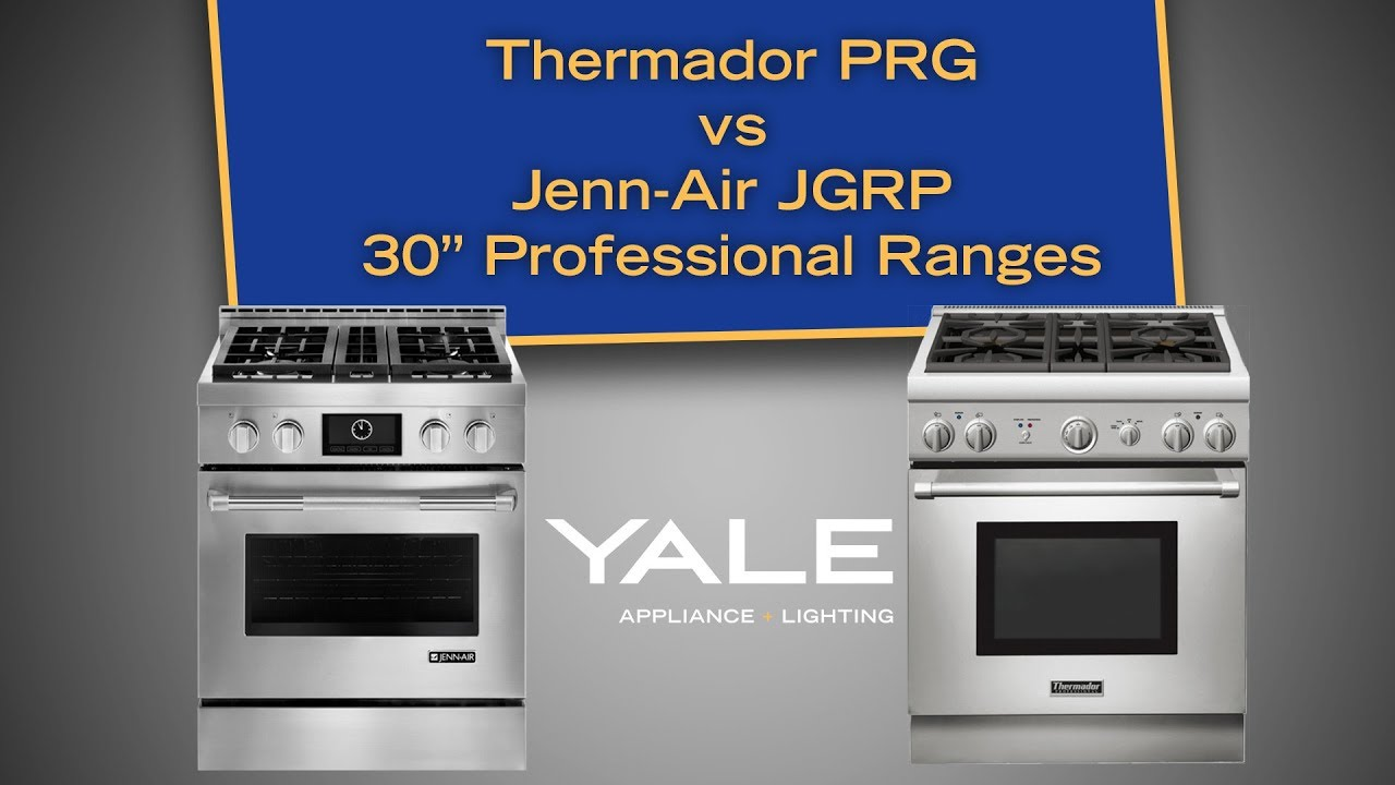 The Best 30 Inch Pro Gas Ranges: Jenn Air JGRP430WP Vs Thermador PRG304GH