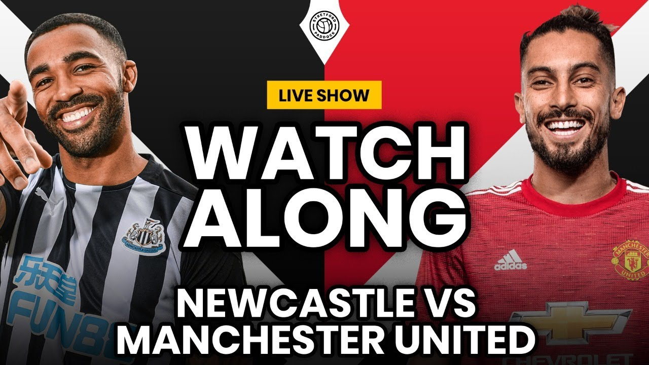 Newcastle United v Manchester United: Premier League  as it ...