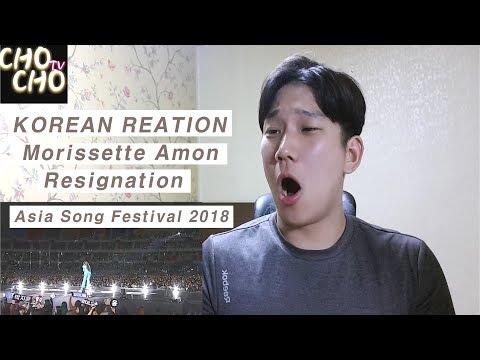 [Korean Reaction] Morissette Amon - 체념 (Resignation)(Asia Song Festival 2018)