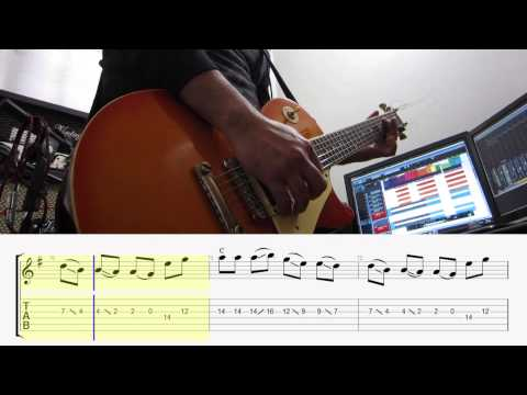 Taylor Swift Shake it off electric guitar cover melody TAB