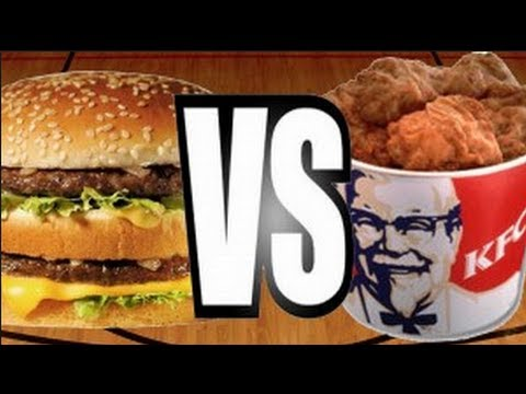 KFC CHICKEN vs BIG MACS - Sorted Food & Nicko's Kitchen