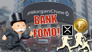 BREAKING NEWS! JPMorgan Bank + 40 German Banks FOMO in on Ethereum, Bitcoin and XRP!