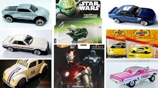 Marvel Concept Art Car, Star Wars and Upcoming 2019 Hot Wheels