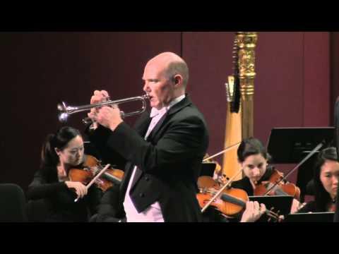 Trumpet Concerto in E-flat major - Johann Nepomuk Hummel - Robert Frear—trumpet