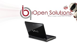 Sony Vaio PCG - Solid State Drive Install Guide