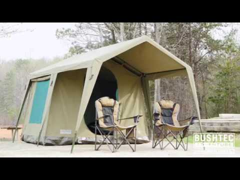 Bushtec Adventure - Simply the worldu0027s best canvas tents and gazebos : tents and gazebos - memphite.com