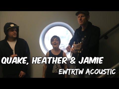 "Acoustic '""Everybody Wants to Rule the World""- Heather Rankin, Quake Matthews & Jamie Robinson"