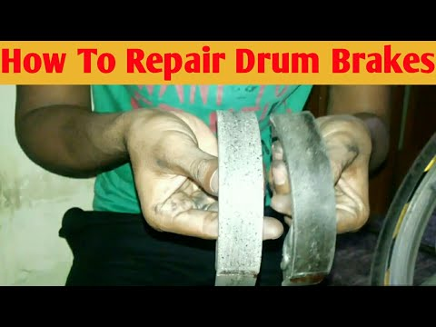 How to Repair Drum Brakes of Splendor, Passion, HF-Deluxe or any hero bike