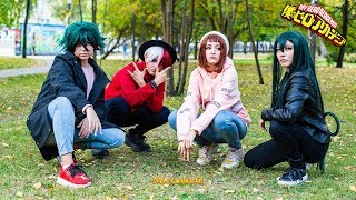 Как снимали видеокосплей: BNHA: Crush (Boku no Hero Academia Video Cosplay)
