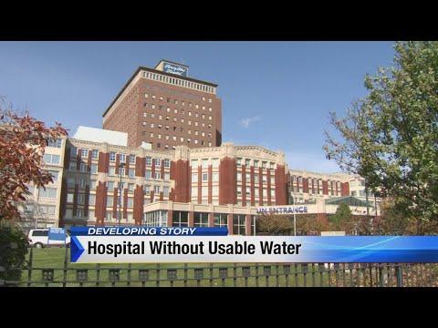 Henry Ford Hospital using bottled water until test results come back