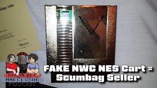 FAKE NWC Gold NES Cart on Ebay - #CUPodcast