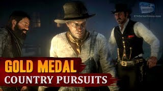 Red Dead Redemption 2 - Mission #55 - Country Pursuits [Gold Medal]