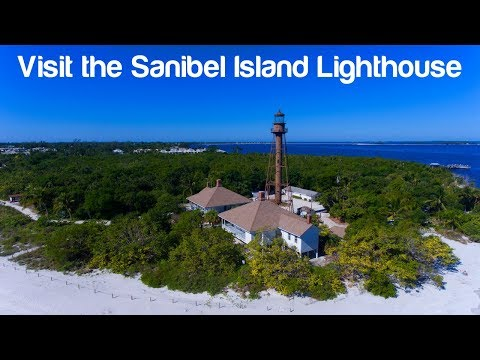 Florida Travel: 360-Degree View of the Sanibel Island Lighthouse