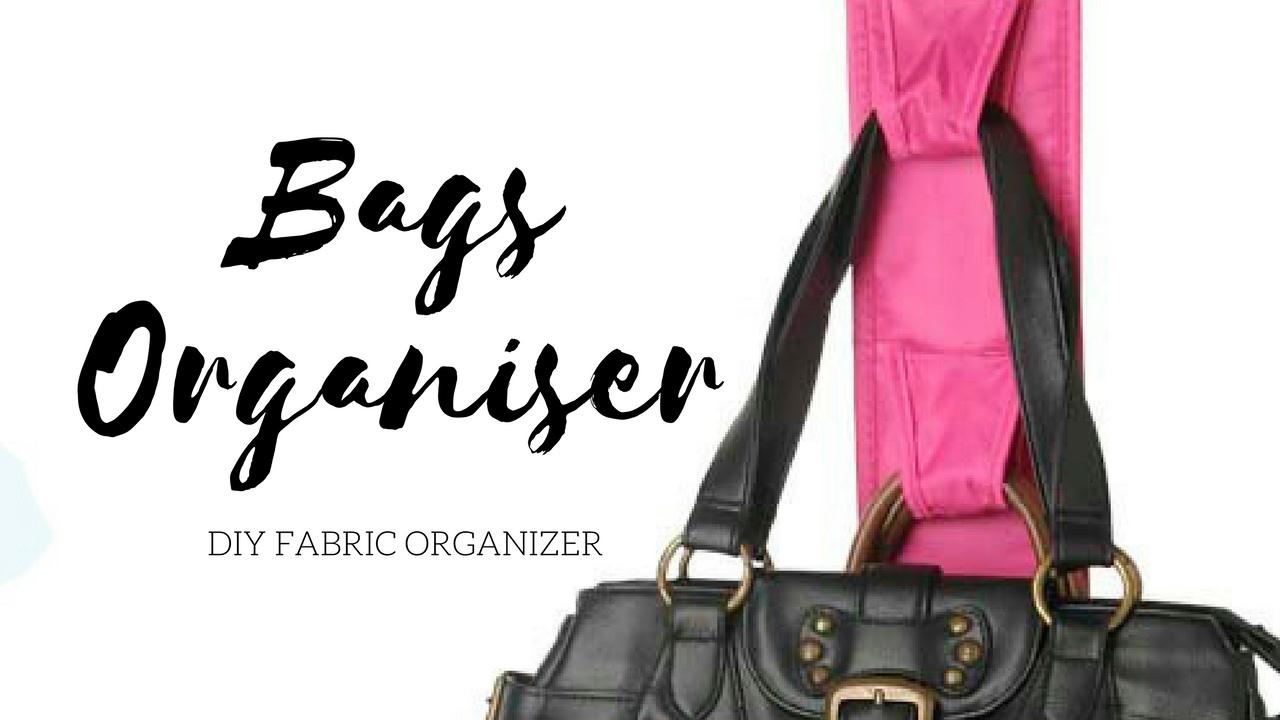 81dfe44ba2 DIY Days  Bags organizer + Organizing shoes