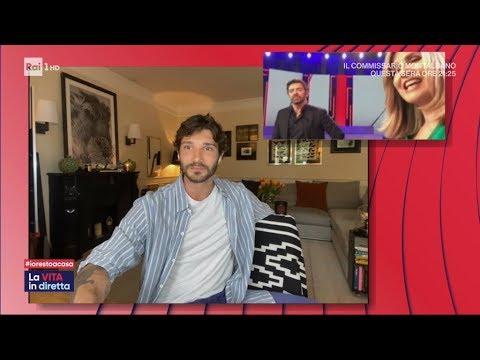 A casa dei personaggi della TV - Stefano De Martino - La vita in diretta 30/03/2020