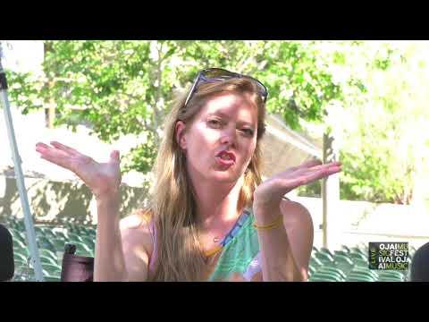 Ojai Music Festival 2018: Barbara Hannigan Interview, Friday Afternoon