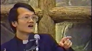 1992 04 05義光教會十周年 感恩禮拜 11 介紹 + 會後