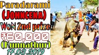 Paradarami john cena WoN 2nd prize (kunnathur) 2019