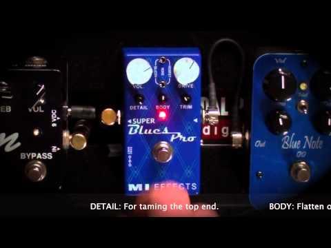 MI Effects : Super Blues Pro Overdrive