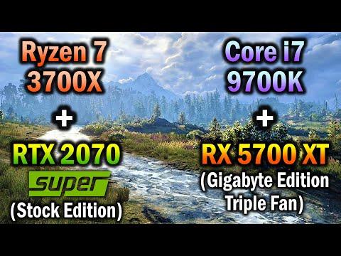 9700K vs 3700X