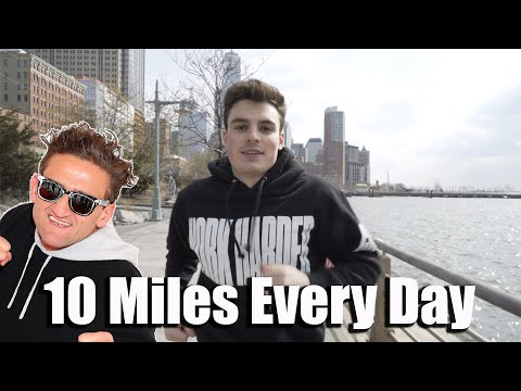 I Ran 10 Miles Every Day Like Casey Neistat