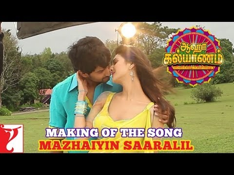Download Making of the song - Mazhaiyin Saaralil - Aaha Kalyanam - [Tamil Dubbed]