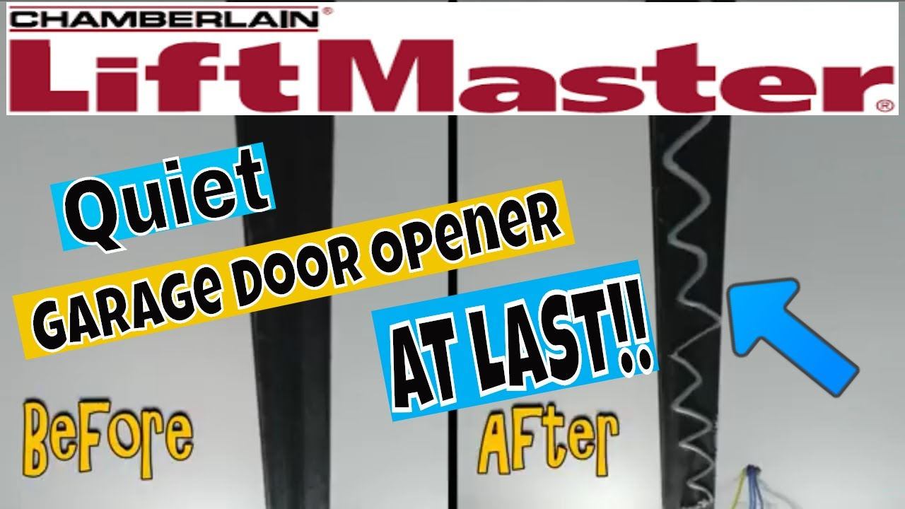 Where To Apply Liftmaster Rail Grease Garage Door Opener Lubrication