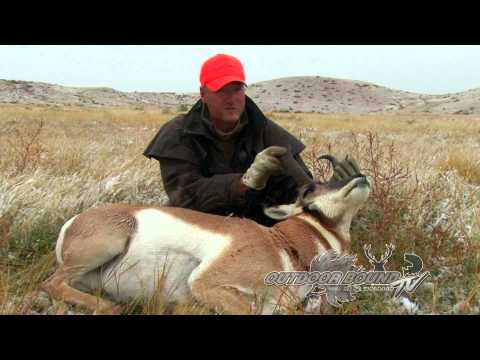 Outdoor Bound TV Episode 55 - Wyoming Antelope & Winnibigoshish Walleye