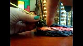 мк плетіння шкатулки з картонним дном з газетних трубочок. частина 2.