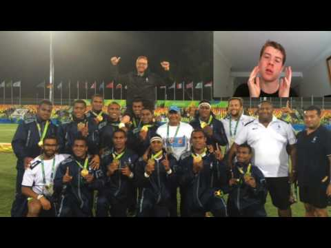 FIJI WINS OLYMPIC GOLD!!!! Mens Rugby Sevens Olympics Review