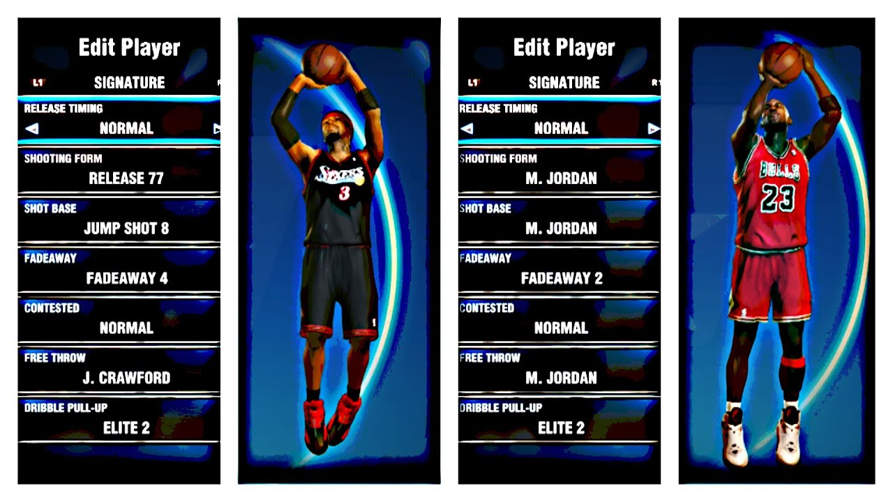 NBA 2k14 PS4   HOW TO GET ANY PLAYERS JUMPSHOT   TUTORIAL - YouTube