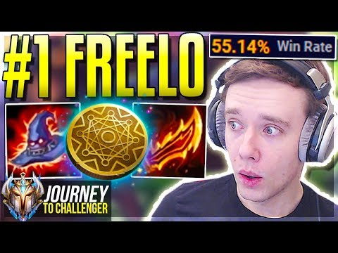 THIS CHAMPION IS FINALLY FREELO NOW - Journey To Challenger  LoL