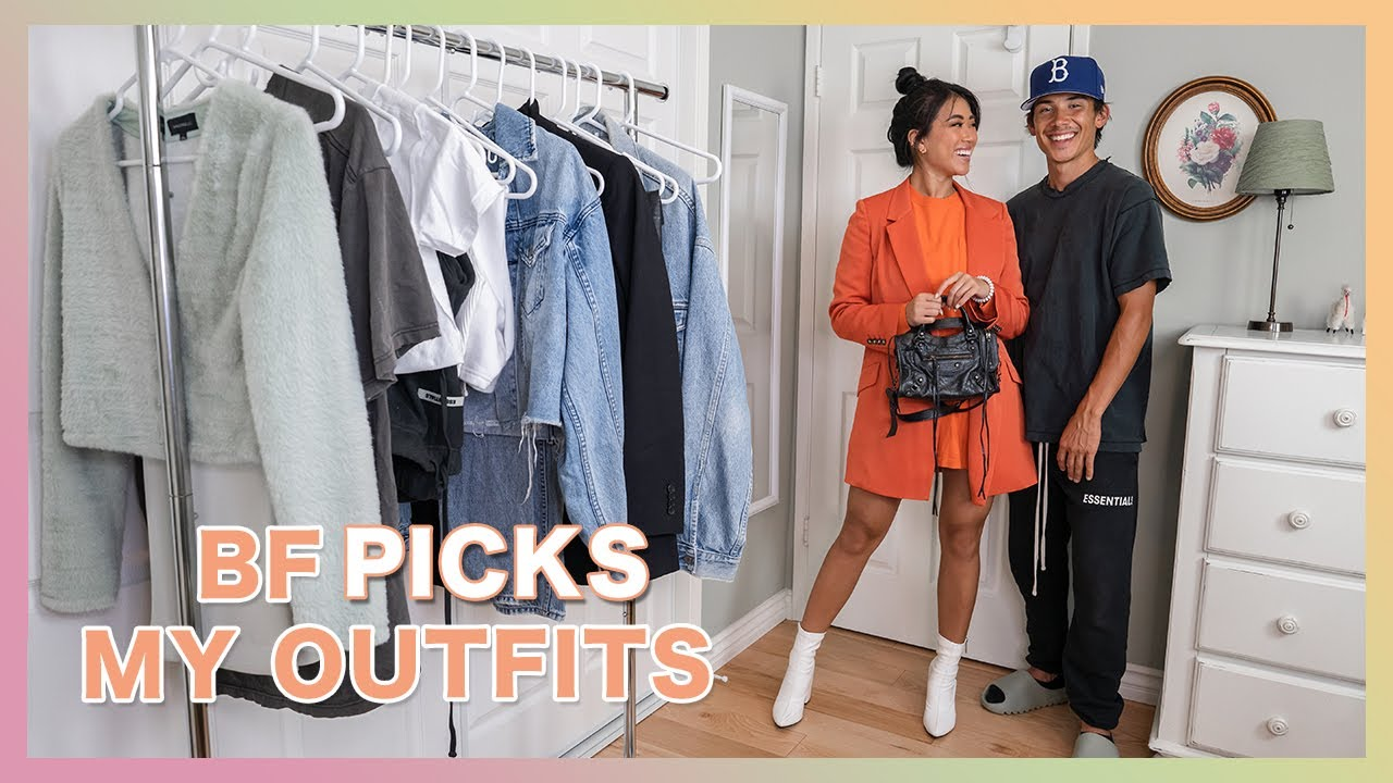 Boyfriend Picks Out My Outfits | Streetstyle / Cool Girl Outfit Ideas
