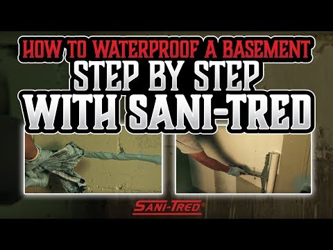 How To Waterproof A Basement Step By Step With Sani-Tred