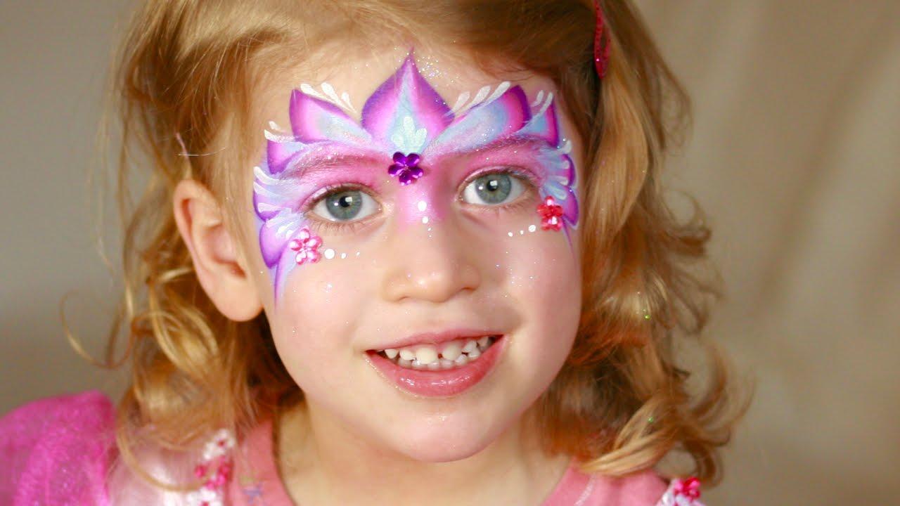 Maquillage De Petite Princesse Tutoriel De Maquillage Des Enfants