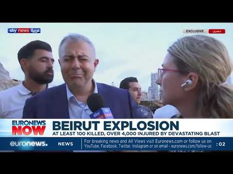 Beirut explosion: At least 100 killed, over 4,000 injured by devastating blast