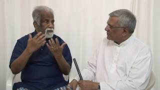 ECG Sudarshan's interview about meeting  Prof A Satyanarayana Sastri ji