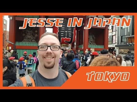 Jesse in Japan - Tokyo Leg
