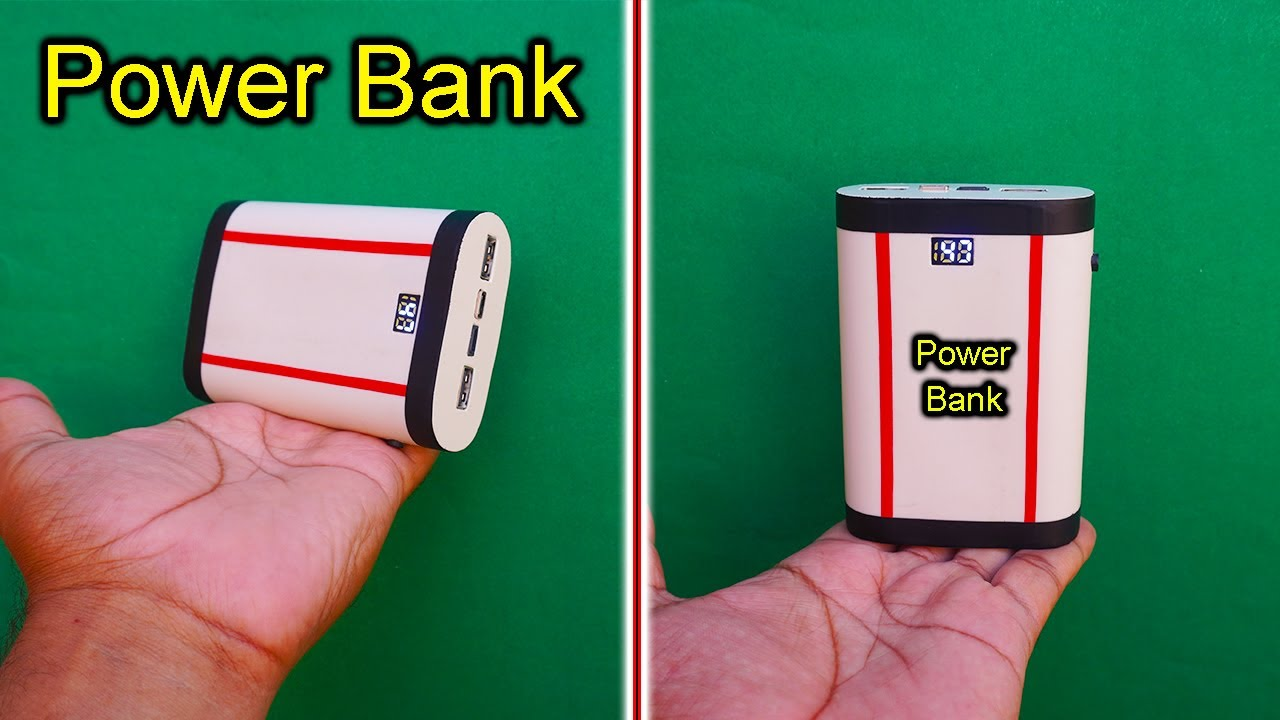 Download How To Make A Power Bank Using Old Mobile Battery At Home | Homemade Powerful Power Bank| Power Bank